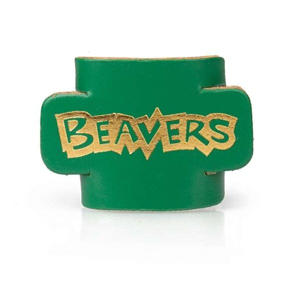 beaver-scouts-leather-woggle-green