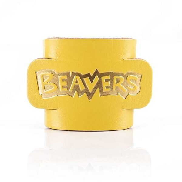 beaver-scouts-leather-woggle-yellow
